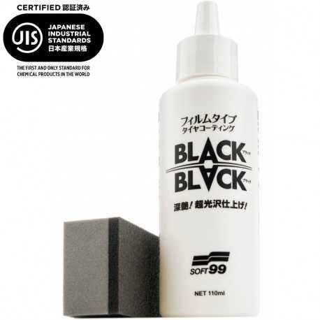 Tire Hard Coat BLACK & BLACK