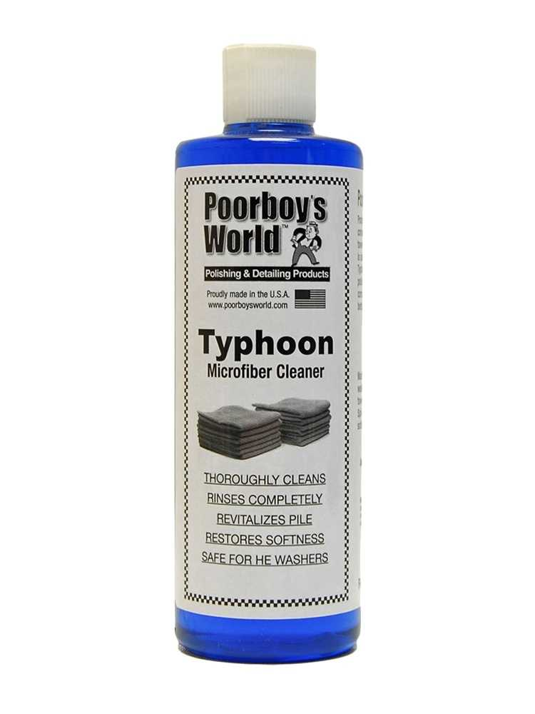 Poorboy's World Typhoon Microfibre Cleaner