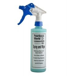 Poorboy's World Spray And Wipe & Waterless wash