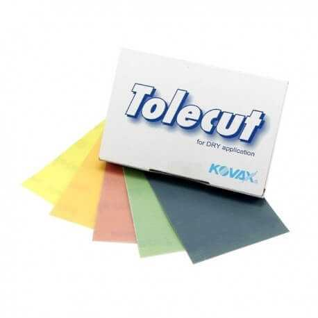 Tolecut KOVAX Sandpapers  Sheets 70x114mm Imperfection Removal