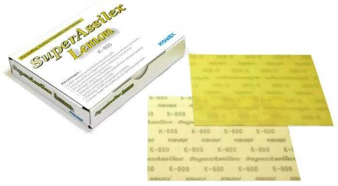 Super Assilex KOVAX Sandpaper Sheets Double Action 170x130 MM