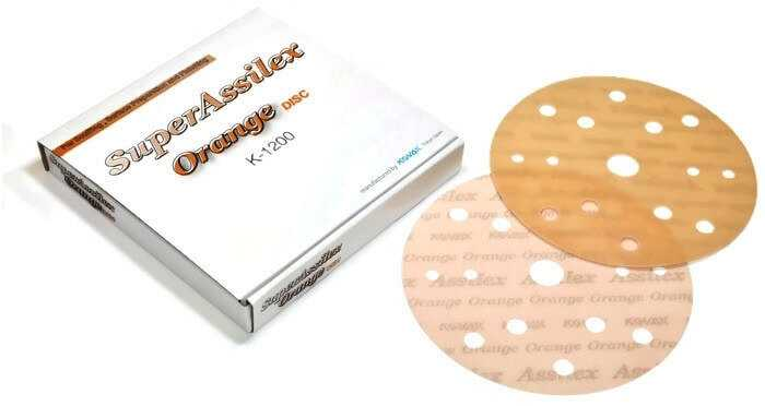 Super Assilex Sandpaper Discs 150 mm Double Action, Boxes Including  25 Discs Grits 600, 800,1200, Save Up to 75% Time Work With