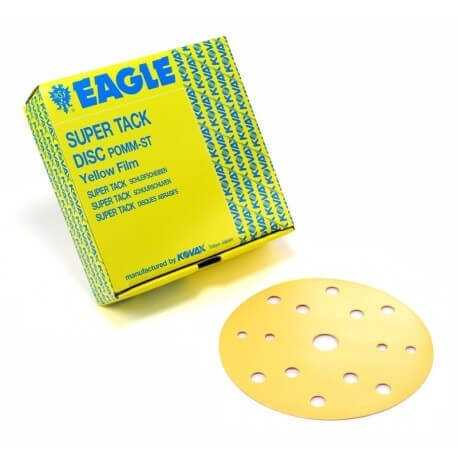 Yellow Film Super Tack Discs Yellow Discs Grits 800, 100,1200, 1500,2000 Patented Layer on top, Perfect to remove orange peels
