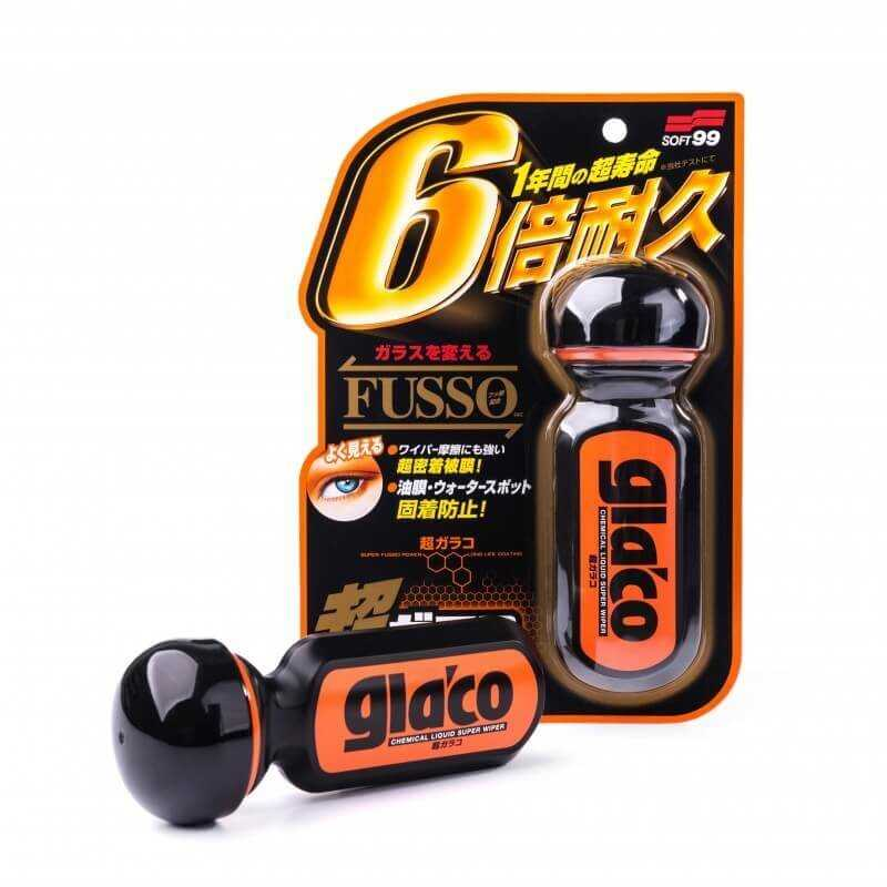Invisible Wiper - Ultra Glaco Black/orange plastic small stick