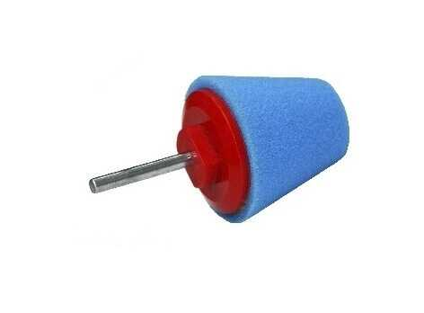 Cone Buffing Pads Blue