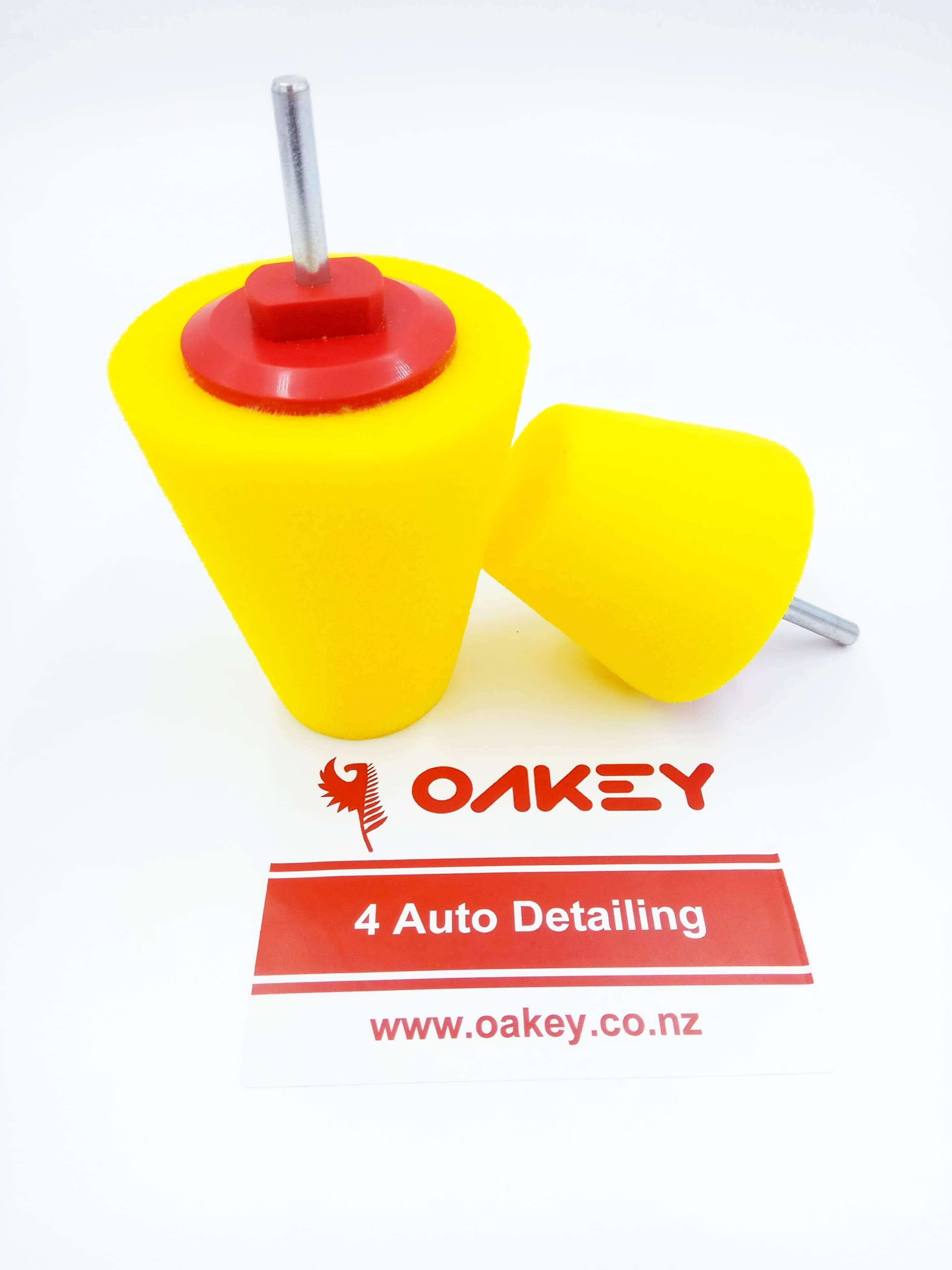 Cone Buffing Pads Yellow