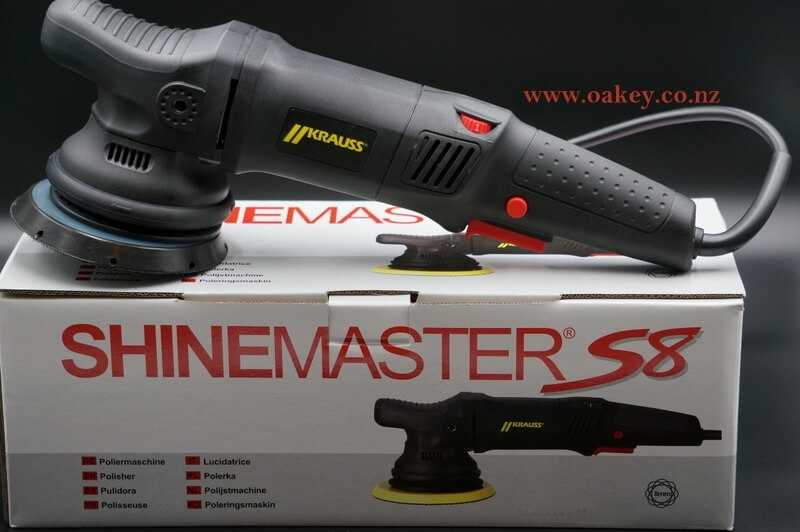 Orbital Polisher SHINEMASTER S8