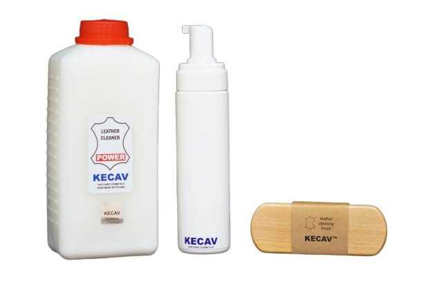New Leather Cleaner Kit Power with brush